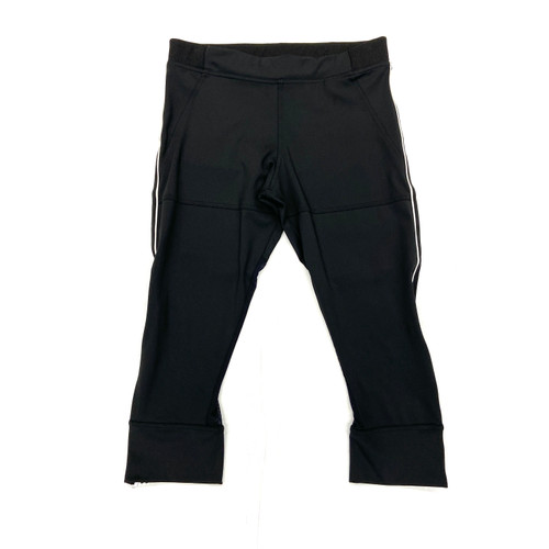adidas x Stella McCartney Mesh Insert Kneecap Leggings- Front