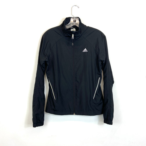 adidas Lightweight Zip Up Windbreaker- Front