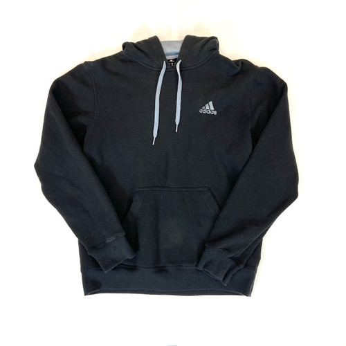 adidas Distressed Fleece-Lined Hoodie- Thumbnail