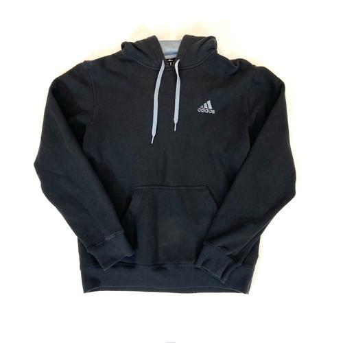 adidas Distressed Fleece-Lined Hoodie- Thumbnail