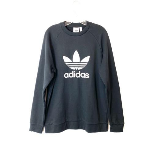 adidas Crew Neck Big Logo Sweatshirt- Front