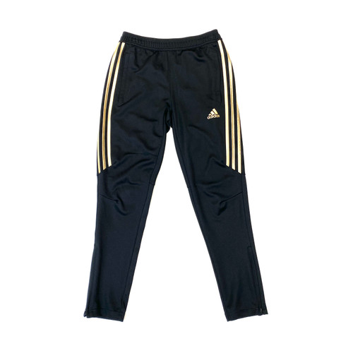 adidas Gold Stripe Tapered Track Pants- Front