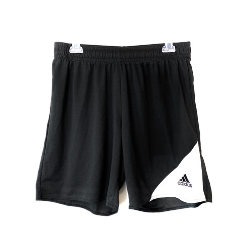 adidas Climalite White Triangle Shorts- Front