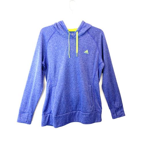 adidas Ultimate Hoodie Heathered Sweatshirt- Front