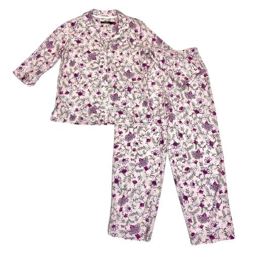 Ralph Lauren Floral Jersey Pajama Set- Thumbnail