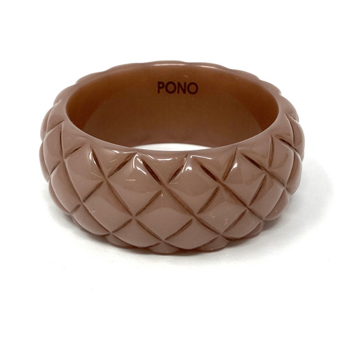 PONO Dusk Pineapple Texture Bangle- Front