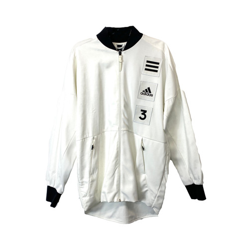 adidas Recycled Polyester Track Jacket- Front