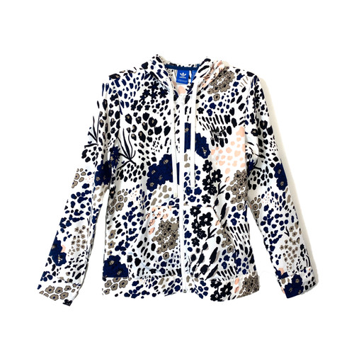adidas Floral Print Jacket- Front