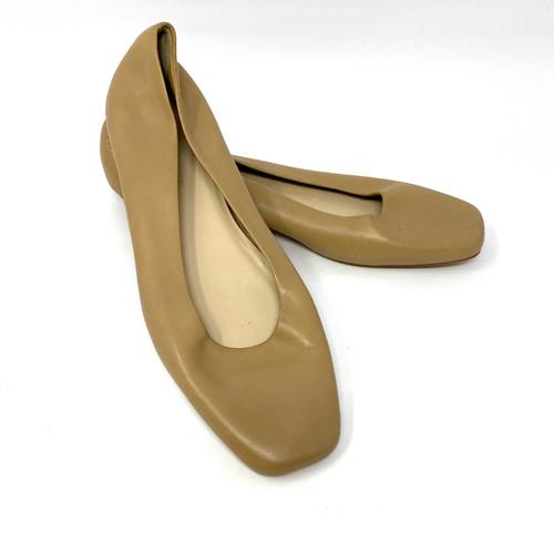 Everlane Beige Round Heel Ballet Flat- Thumbnail