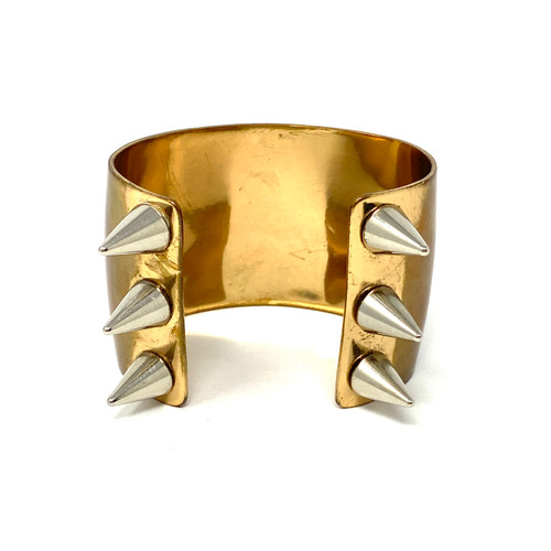 Pamela Love Spiked Two-Tone Cuff- Thumbnail