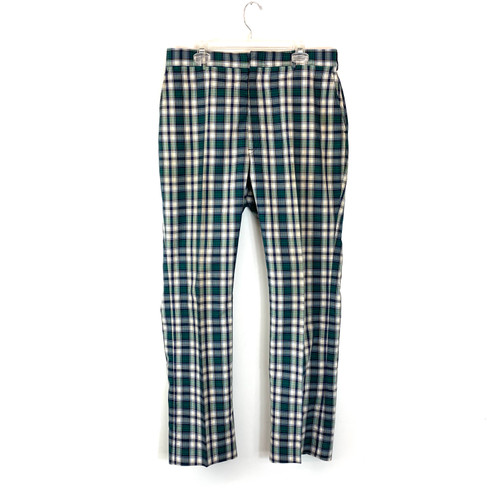 Vintage A-Kay Plaid Pants- Front