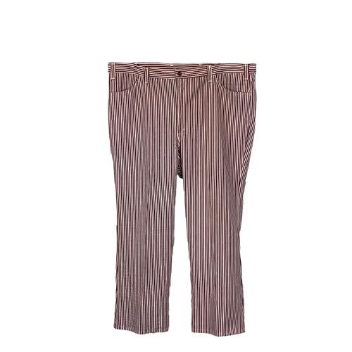 Vintage Levi's Gentleman's Striped Denim Pants- Front