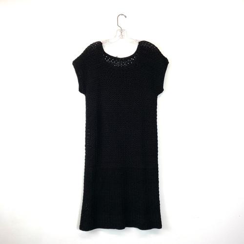 Vintage Crochet T-Shirt Dress- Front
