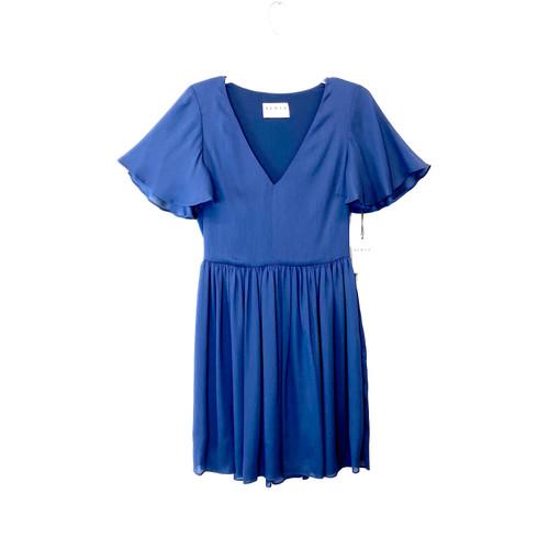 HERJA Marine Flirty Mini Dress- Front