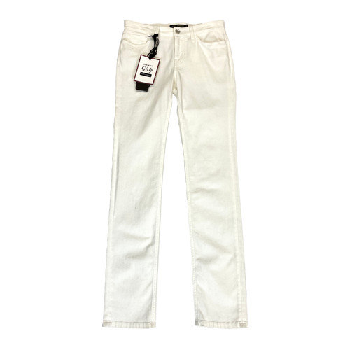 Dolce & Gabbana Girly Fit Denim Trousers- Front