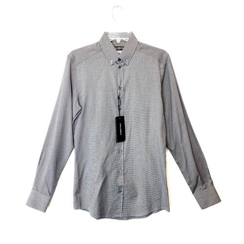 Dolce & Gabbana Black Patterned Dress Shirt- Front