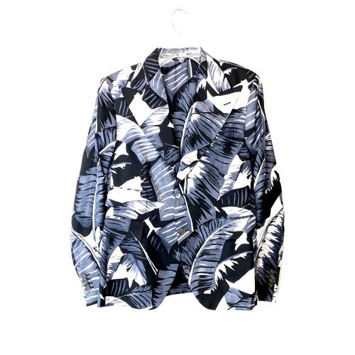 Dolce & Gabbana Banana Leaf Suit Jacket- Front