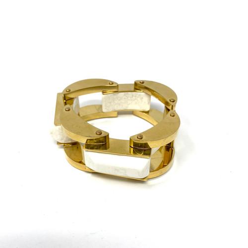 Lele Sadoughi Heavy Chain Cuff- Thumbnail