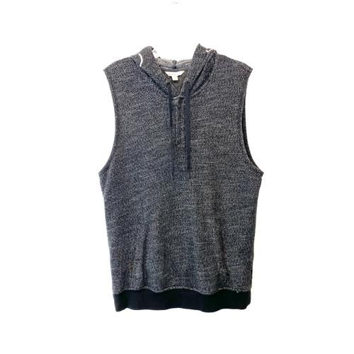 Calvin Klein Jeans Sleeveless Hoodie- Front