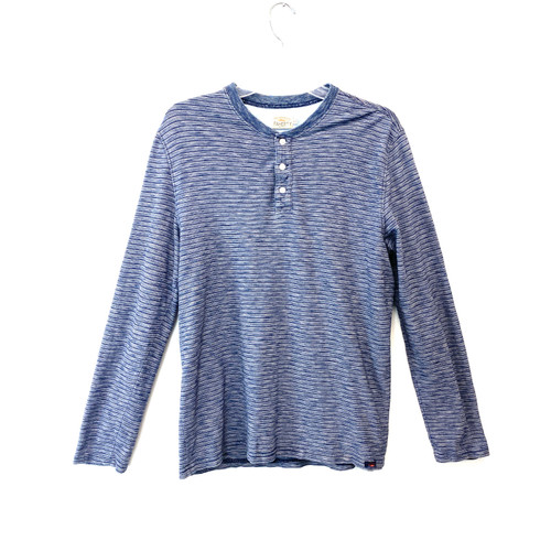 Faherty Natural Indigo Dyed Shirt- Front