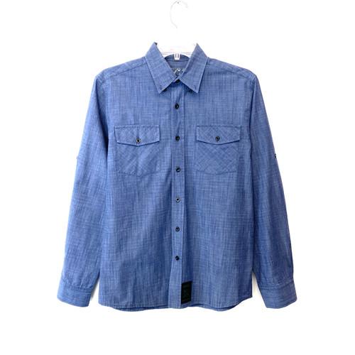 CCS Long Sleeve Work Shirt- Front