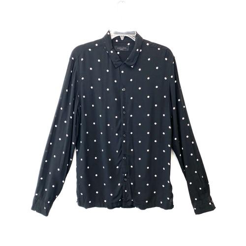 AllSaints Kuta Long Sleeve Shirt- Front