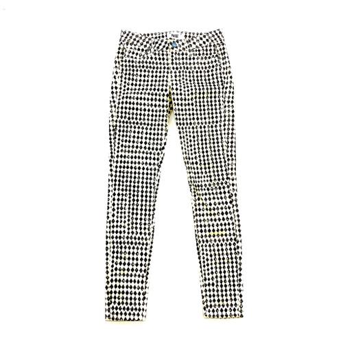 Paige Skinny Diamond Checkerboard Jeans - Thumbnail