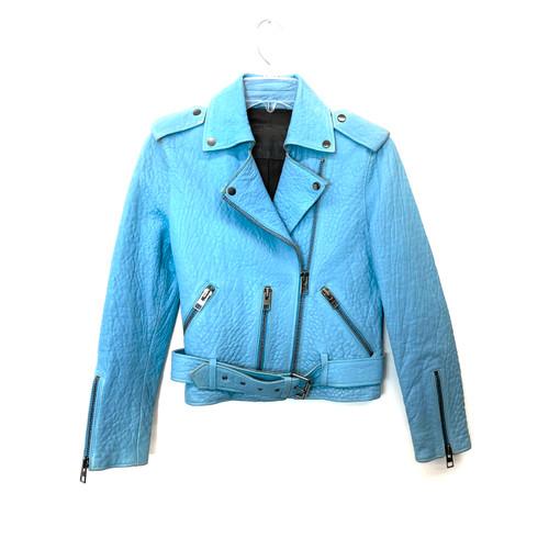 AllSaints North Biker Leather Jacket - Thumbnail