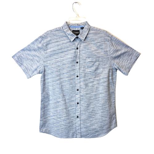 Premium Xpression Short Sleeve Button Down Shirt - Thumbnail