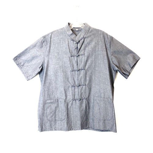 Traditional Mandarin Work Shirt - Thumbnail