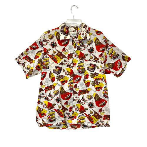 Golden Mico Caribbean Shirt - Thumbnail