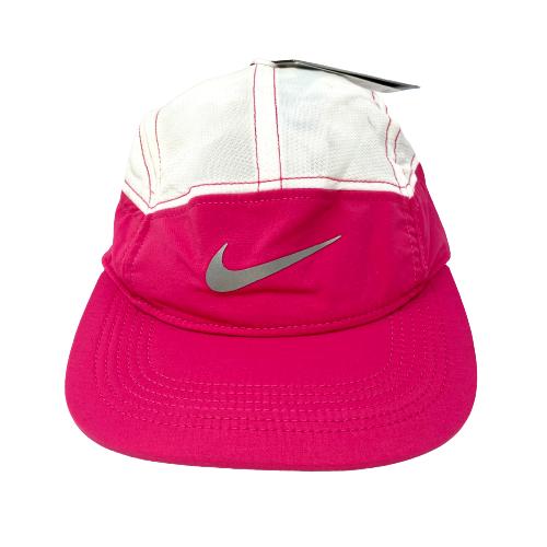 Nike Pink Zip AW84 Adjustable Running Hat - Thumbnail
