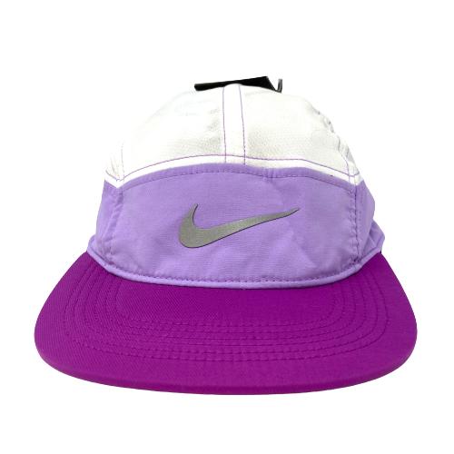 Nike Purple Zip AW84 Adjustable Running Hat - Thumbnail