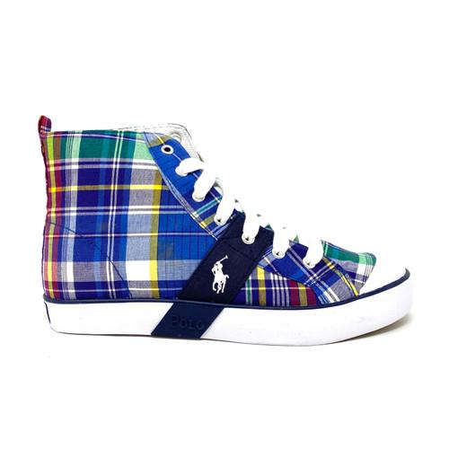 Polo Ralph Lauren Plaid Sneakers - Thumbnail
