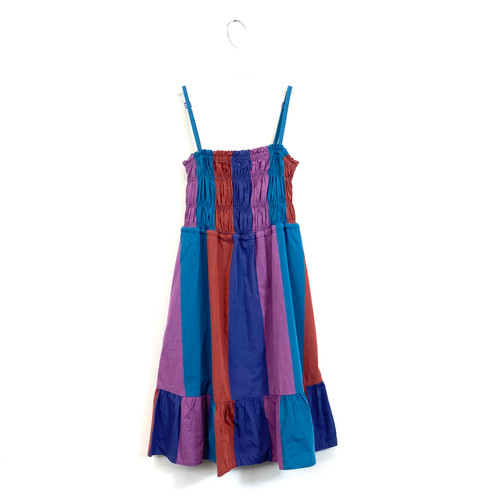 Marc by Marc Jacobs Smocked Stripe Sundress- Front