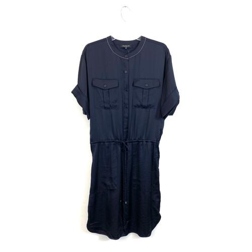 Lafayette 148 Safari Shirtdress- Front
