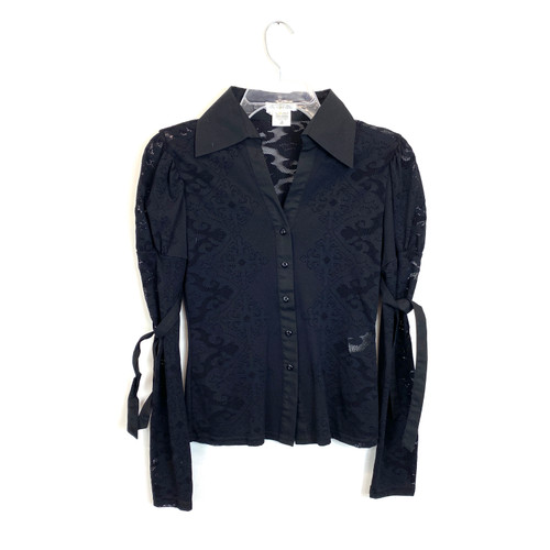 Nara Camicie Lace Blouse- Front