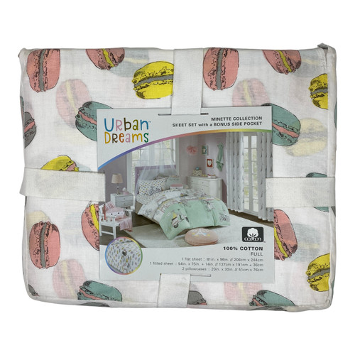 Urban Dreams Minette Collection Full Sheet Set - Front