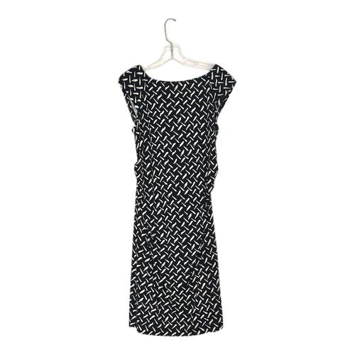 Diane von Furstenburg Cap Sleeve Printed Sheath Dress-Front