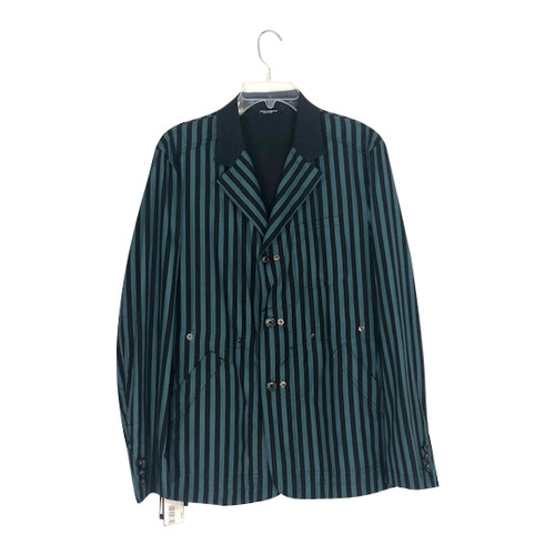 Dolce & Gabbana Striped Buttoned Jacket-Front