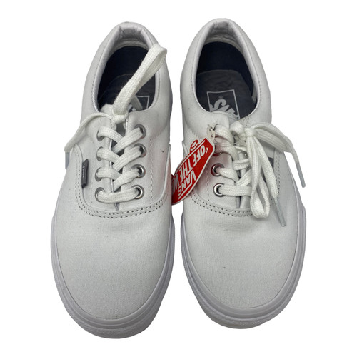Van's Canvas Low Top Lace Up Sneakers-Top