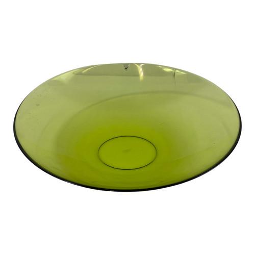 Pale Green Orresfor Elliptical Glass Bowl- Thumbnail