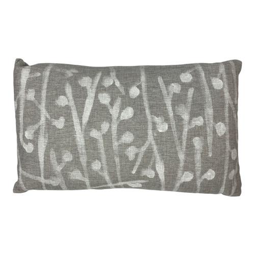 Sarah Von Dreele Dottie Heather Linen Pillow - Front