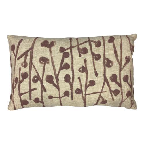 Sarah Von Dreele Dottie Marsh Linen Pillow - Front