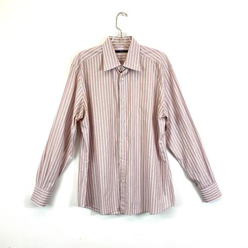 Gucci Striped Poplin Dress Shirt- Front