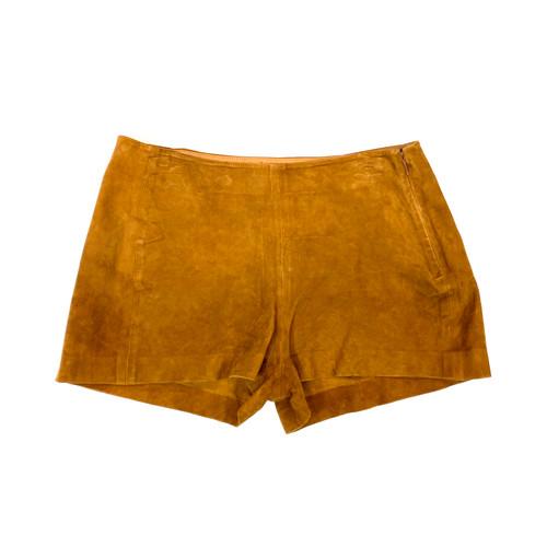 Rag & Bone Suede Micro Shorts- Front