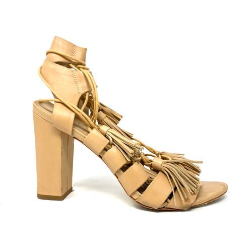 Loeffler Randal Lace Up Sandals- Right