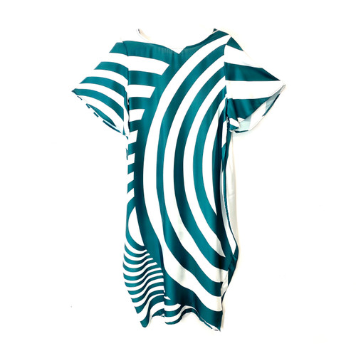 YESNO Psych Stripe Caftan- Front