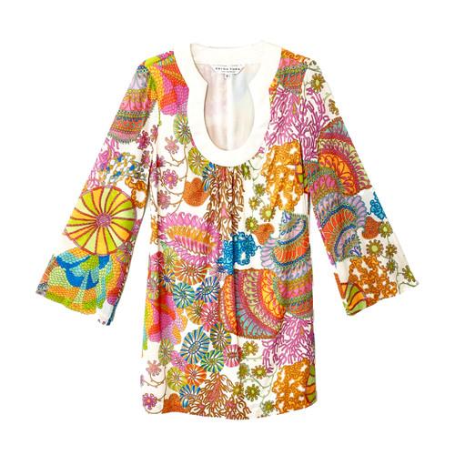 Trina Turk Tropical Mini Dress- Front