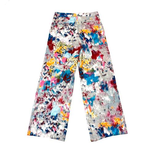 BCBG MaxAzria Brushstroke Trousers- Front